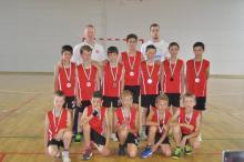 VUK U12 fiú Székely Nemzeti Bajnokság 2015 2. hely